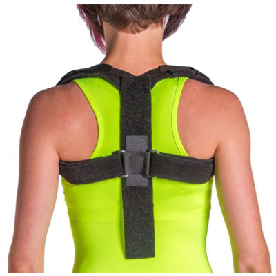 Posture Corrector Upper Back & Shoulder Support by BraceAbility