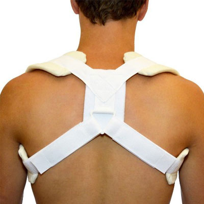 Figure 8 Clavicle Brace & Posture Support Strap by BraceAbility