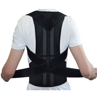 Adjustable Back Support Posture Corrector Brace by Emma Ya