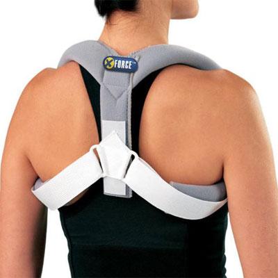 Posture Corrective Brace Shoulder Back Corrector Support Belt Pain Relief from XFORCE