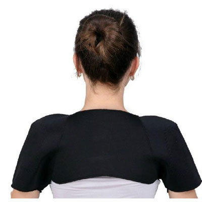 Magnetic Therapeutic FAR-INFRARED Shoulder Support from APEX PLATINUM