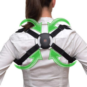 back view of smartbackbrace