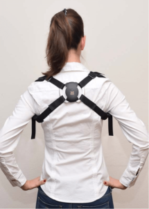 back view of the smart back brace