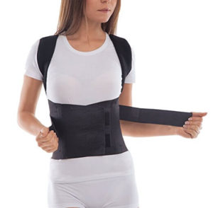 lady wearing the toros group posture corrector